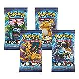 Generisch Pokémon XY Evolutions - Juego de 4 sobres sellados