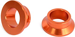 Orange Rear Wheel Spacer Hub Collars Replace KTM 125-450 XC-F 2013-2014 125-450SX/SX-F,All SX/SX-F/XC/XC-F 2013-2018,Husqvarna TC/TX/FC/FX 125-450 2016 2017 2018