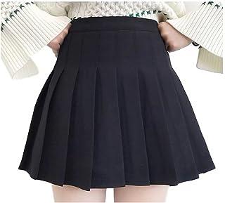 [ルビタス] プリーツ スカート ミニ 丈 インナー付き テニス かわいい ミニスカ フレア ひざ丈