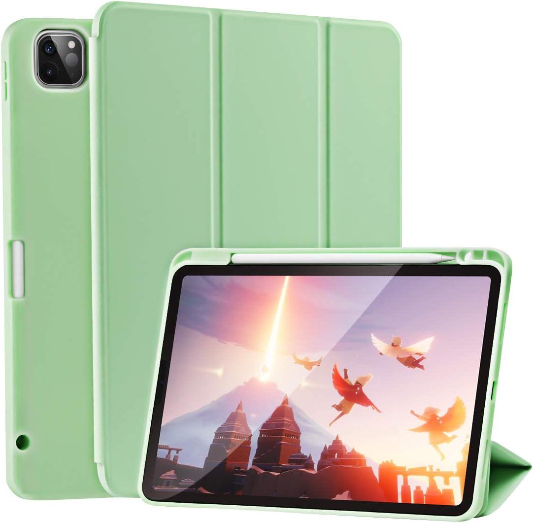 SIWENGDE - Funda para iPad Pro 11 pulgadas 2020 2ª generación - Soporte para Lápiz de 2a generación - Carcasa protectora, cubierta para niños