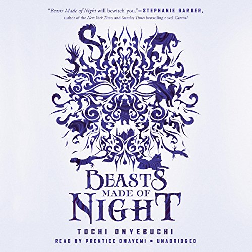 Beasts Made of Night audiobook cover art