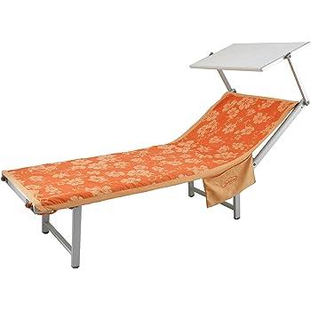 Copri Lettini Da Spiaggia.Telo Coprilettino Mare Ibisco In Microfibra Con Tasche E Elastici R118 Arancione Amazon It Casa E Cucina