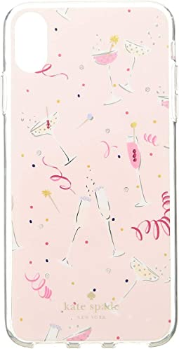 Jeweled Champagne Phone Case for iPhone® X Plus