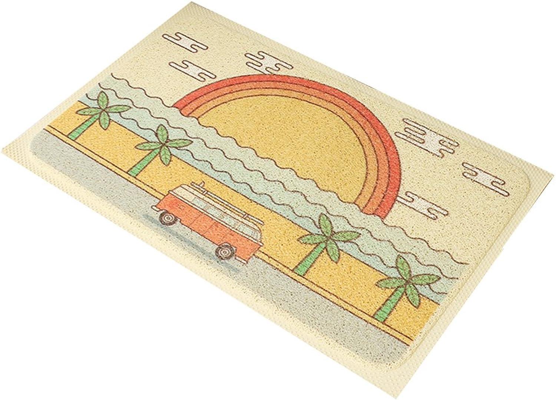 XUERUI Doormats Barrier MAT Door MAT Rubber Backed Medium Runner Barrier MATS Rug (Size   80cm120cm)