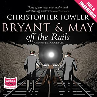 Bryant and May Off the Rails cover art