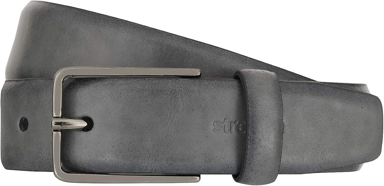 Strellson Strellson Strellson Gürtel Herrengürtel Ledergürtel Grau 2310 B00SGL90O2  Billiger als der Preis b46929