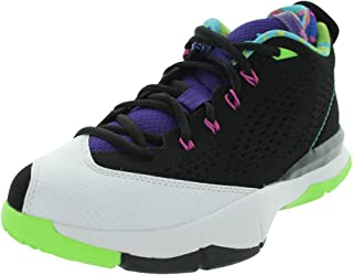 quality design c55bd cead1 NIKE Kid s Jordan CP3 616807 015 Black Gamma Blue Basketball Sneaker
