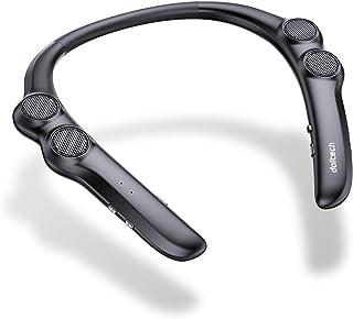 doltech ウェアラブル ネックスピーカー 首掛けスピーカー apt-X対応 bluetooth 5.0