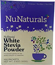 Nunaturals - Nustevia White Stevia Powder - 200 Packet(s) (Pack of 2)