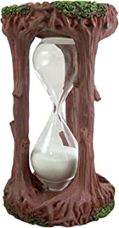 6 Minute Tree of Life Sand Hourglass Timer, 6 1/4 Inch