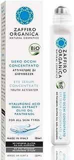 Zaffiro Organica Serum Roll-on BIO Contorno de ojos con Ácido Hialurónico • Efecto inmediato Lifting y antifatiga ✓ Arruga...