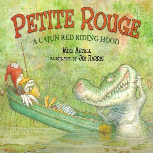 Petite Rouge audiobook cover art