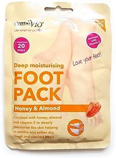 Derma V10 Moisturising Foot Pack Honey