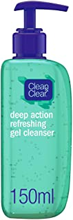 CLEAN & CLEAR Gel Cleanser Deep Action Refreshing 150ml