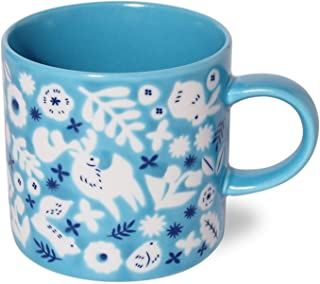 Minoru Ceramic Mug KUKKA Aqua Blue 10.1 fl oz (300 ml) Lightweight 3.28×4.68×H3.28in 8.89oz