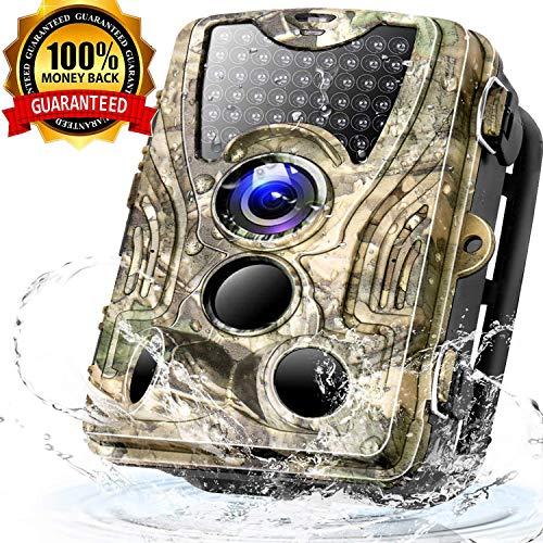 Trail Game Camera 16MP 1080P Full HD Hunting Scouting Camera...