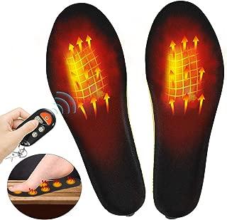 upstartech Heated Insole Wireless Foot Warmer Electric Heated Heated Shoes Insoles Foot Warmer Multiple Sizes for Women Men Winter Outdoor Hunting/Fishing/Shoveling Snow