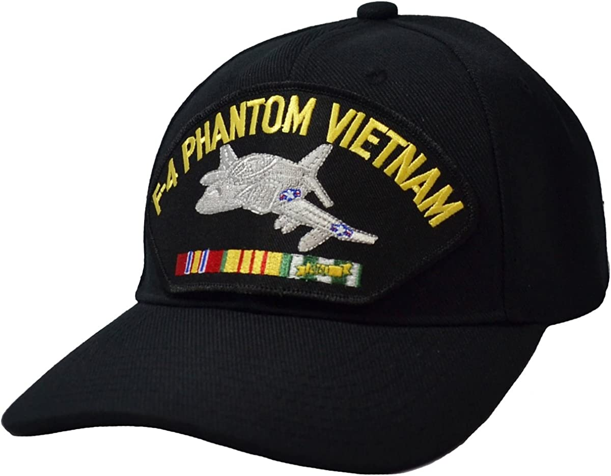 Military Productions, Inc. F-4 Phantom Vietnam War Cap Black
