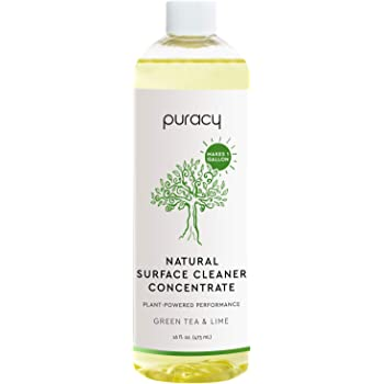 Puracy All Purpose Cleaner Concentrate, Household Natural Multi-Surface Solution, Makes 1 Gallon