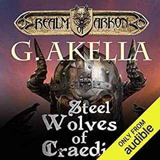 Steel Wolves of Craedia                   Written by:                                                                                                                                 G. Akella                               Narrated by:                                                                                                                                 Zach Villa                      Length: 10 hrs and 23 mins     6 ratings     Overall 4.8
