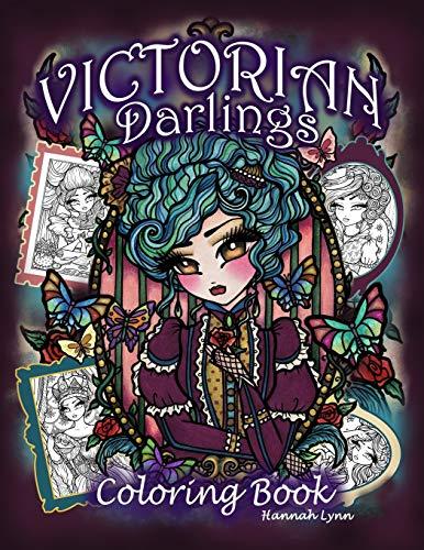 Victorian Darlings Coloring Book