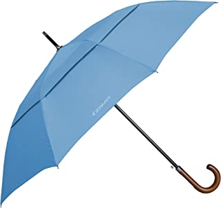 Sponsored Ad - ZEKAR Wooden J-Handle Umbrella, 54/62 / 68 inch, Classic and UV-Protection Versions, Large Windproof Stick ...