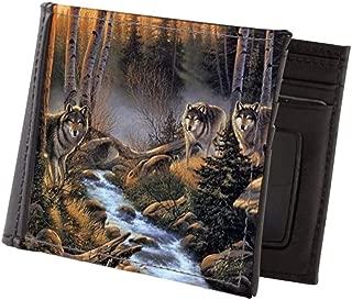 CafePress Forest Wolves Mens Wallet, Bi-fold Wallet, Billfold Money Holder