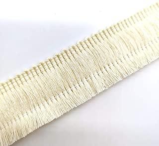 Cotton Fringe Tassel Trim (Beige)