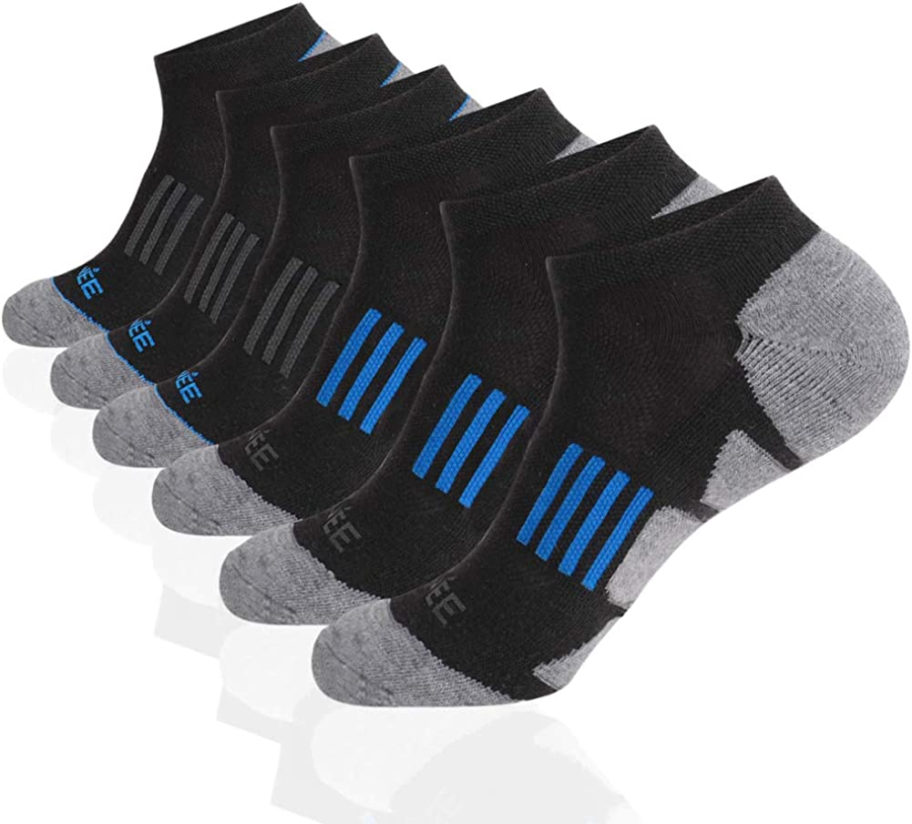 JOYNÉE Dedication Men's 6 Pack Athletic Performance Show Lo Special price for a limited time Cushioned No