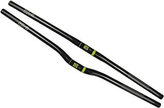 Platt Bicycle Handlebar Carbon Fiber Lightweight Flat Handlebars Riser Bars for Mountain Bike,25.4mm
