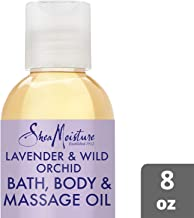 SheaMoisture Lavender/Wild Orchid Bath, Body & Massage Oil, 8 Ounce