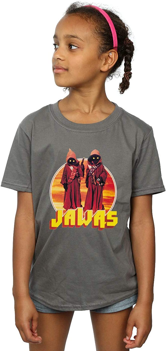STAR WARS Girls A New Hope Jawas T-Shirt 9-11 Years Sport Grey