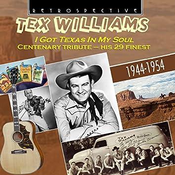 Tex Williams: I Got Texas in My Soul