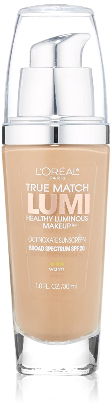 粒ジョリー誇張L'OREAL TRUE MATCH LUMI HEALTHY LUMINOUP MAKEUP WARM #W6 SUN BEIGE