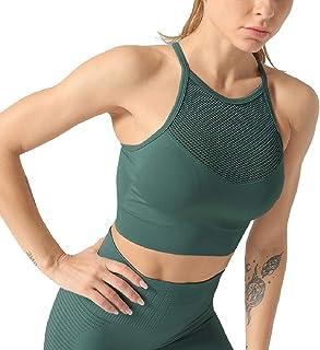 Miracle Women Padded Sports Bra Fitness Workout Running Shirts Yoga Tank T-Shirts