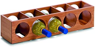 Zeller 13565 Casier à vin en bambou, 13,5 x 12,5 x 53 cm