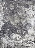 DiB THU120-1000/101 Tapete Decorativo Velvet, Color Gris, 120x170 cm