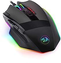 Mouse Gamer Redragon Sniper RGB 12400 DPI com fio
