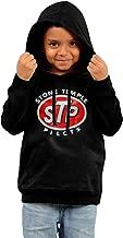 Lcastees Little Boys' Or Girls' Stone Temple Pilots STP Logo 100% Cotton Hoodie Black