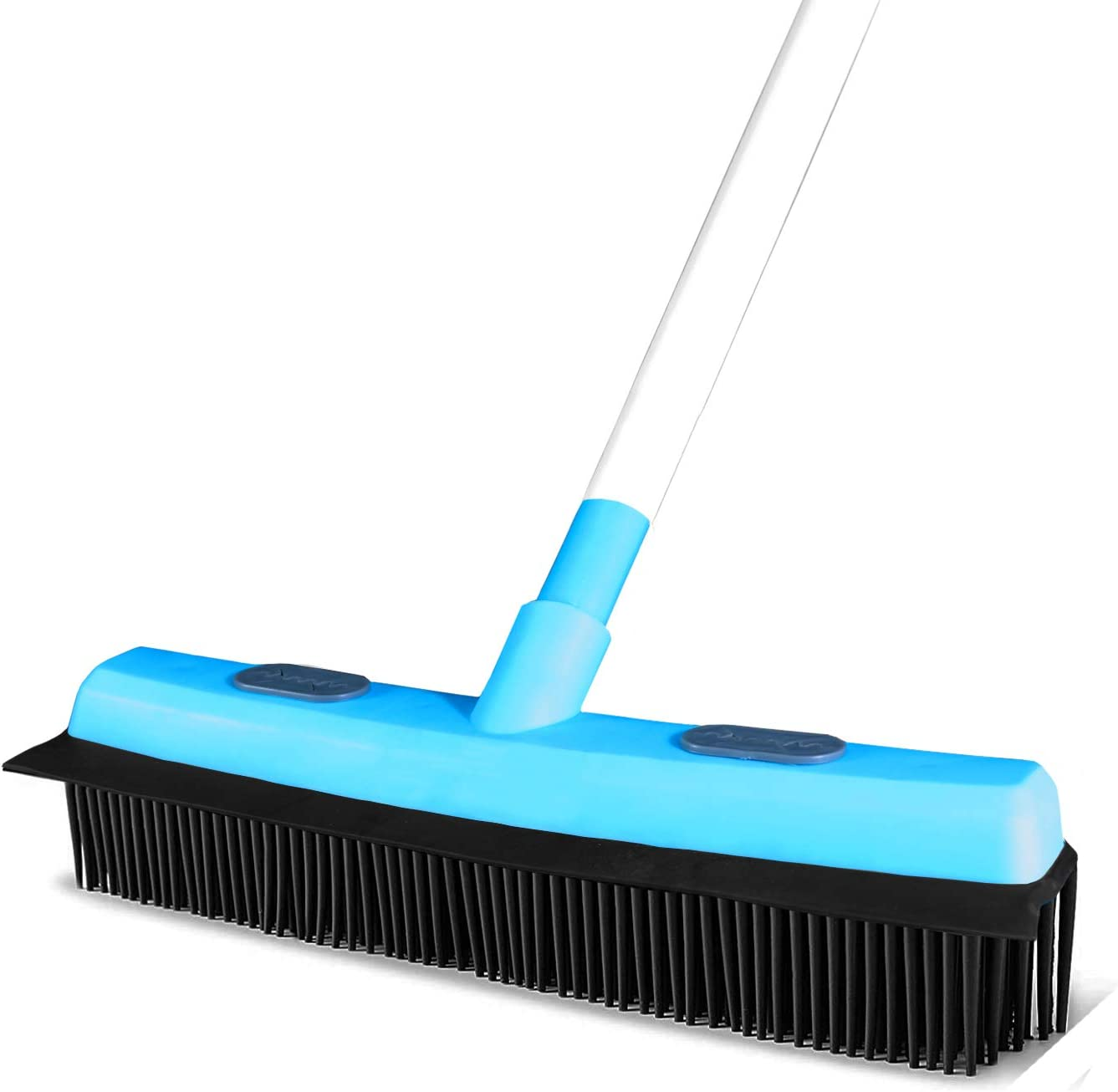 Guay Clean Rubber Purchase Push Broom Pet Washington Mall Hair Removal Soft S Bristle Fur