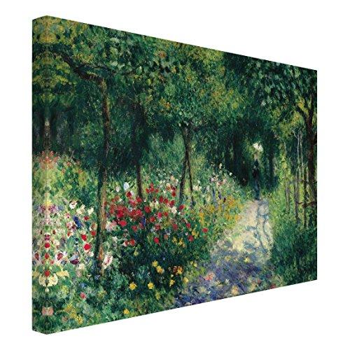 Bilderwelten Leinwandbild - Auguste Renoir - Frauen im Garten - Quer 3:4, 60cm x 80cm