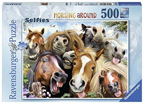 Ravensburger 146956 paarden selfie, puzzel
