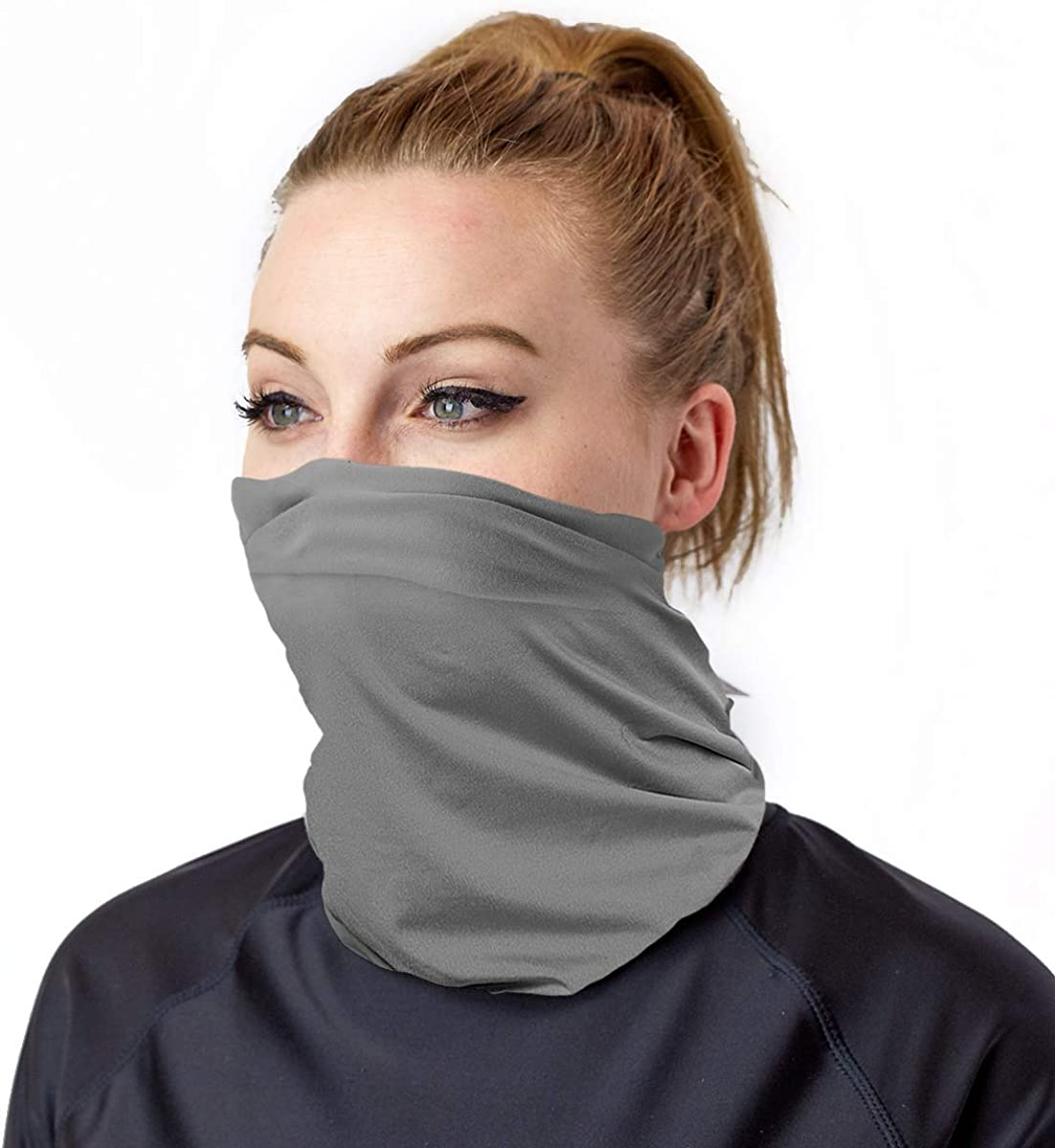UV SKINZ UPF 50+ UV and Dust Protective, Breathable, Reusable Soft Face Shield