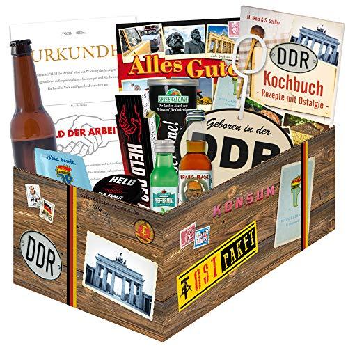 """Geschenkbox für """"echte Männer in der DDR """" / Geschenkeset Geburtstag für Männer"""