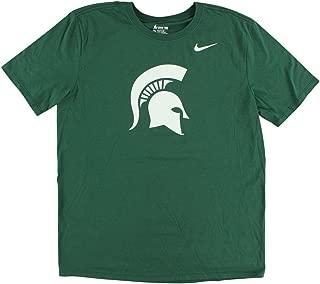 Mens Michigan State Spartans Logo Legend T Shirt Green