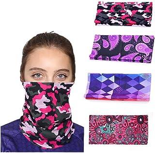 Drecode Fashion Bandanas Outdoor Summer Thin Balaclavas Multi-Functional Sun UV Dsut Protection Breathable Neck Gaiter Spo...