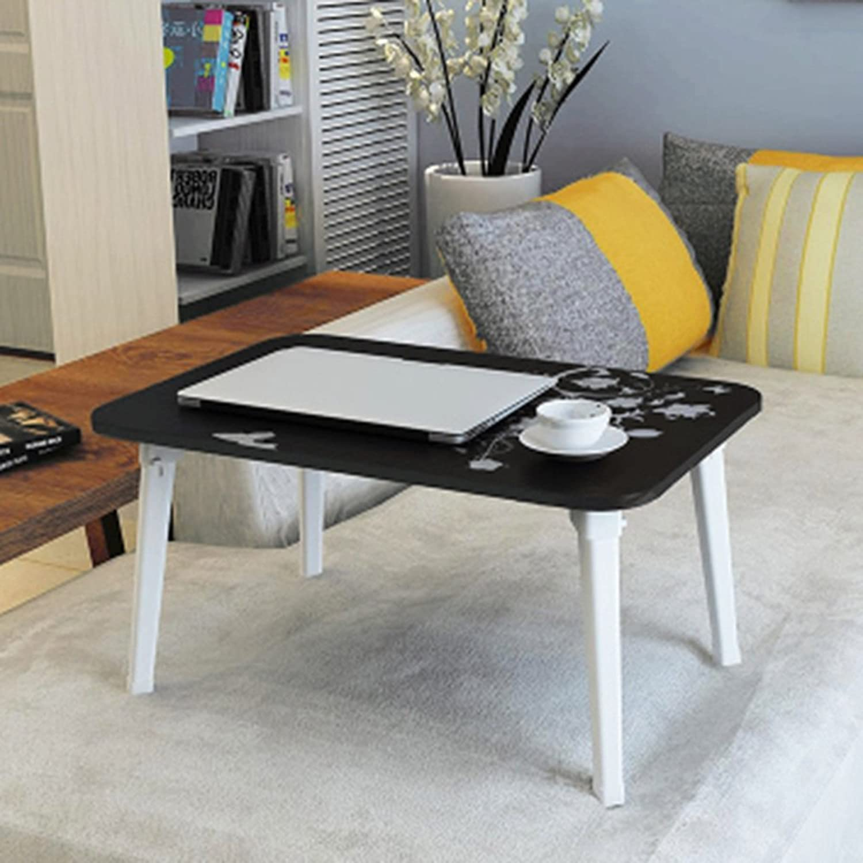ZXQZ zhuozi Folding Table Simple Folding Computer Desk Bed Student Desk Lazy Desk 8 colors Optional 60  40  29cm Folding Computer Desk (color   G)