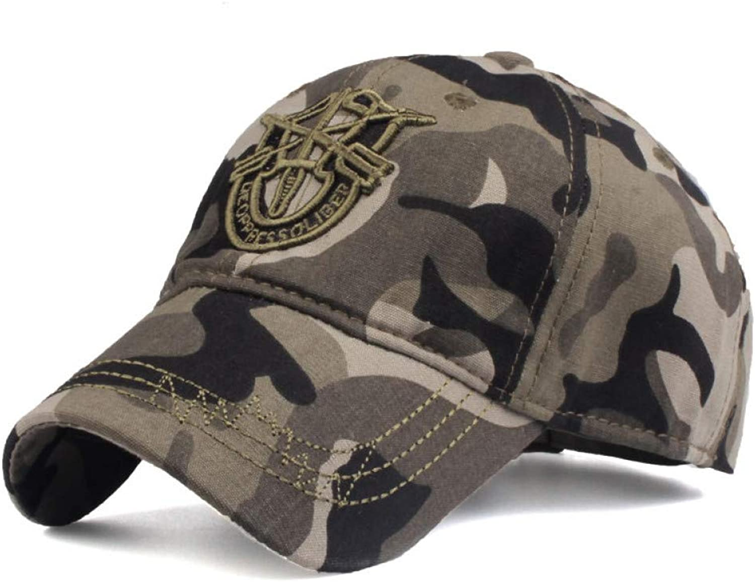 81a73dcc9 WYKDA Baseball New Brand Fitted Hat Casual Camouflage caps Hats for ...