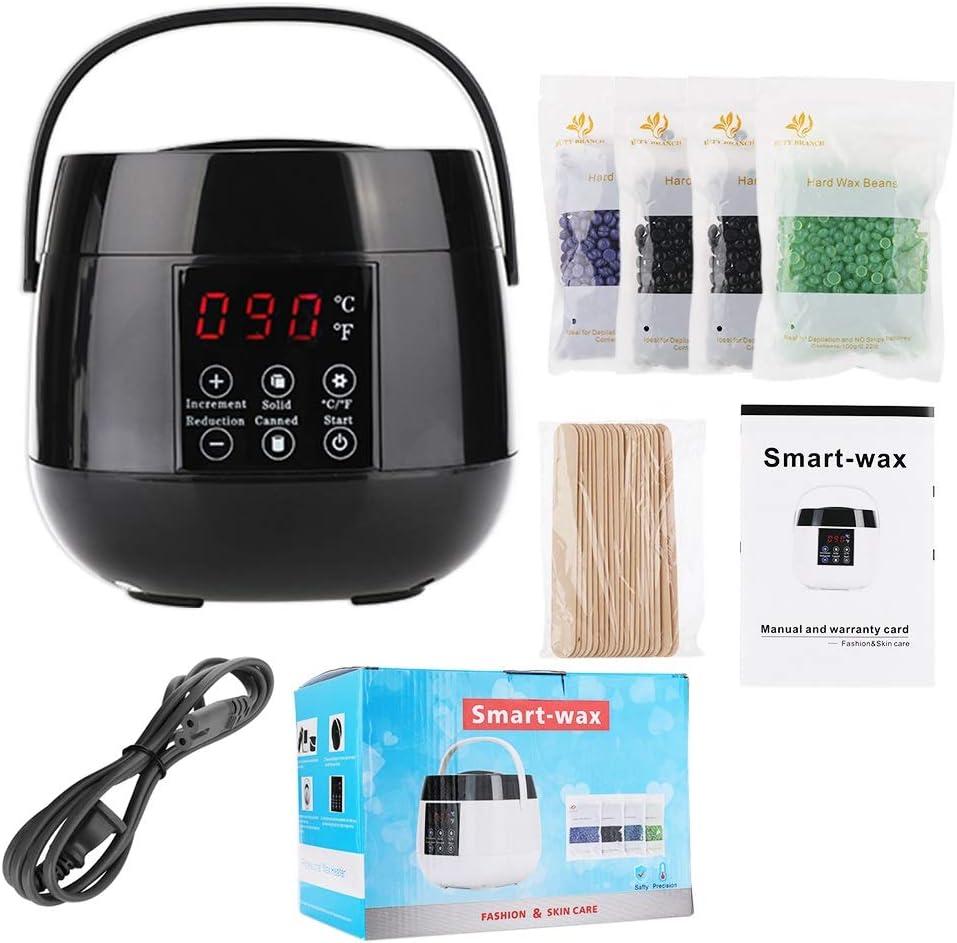 WUQIAN Wax Warmer Portable OFFicial mail order Brazilian Depilatory Electric mart Waxing