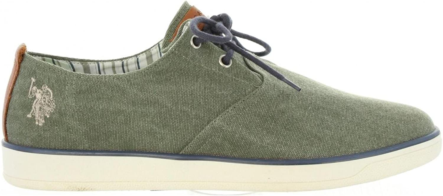 U.S.POLO ASSN. Men Trainers US Polo ASSN REMB-EMBER7217S7-CY1 Militar